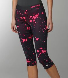 Nothing like some fun party pants to work out in.