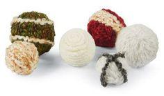 Yarn Wrapped Styrofoam® Balls