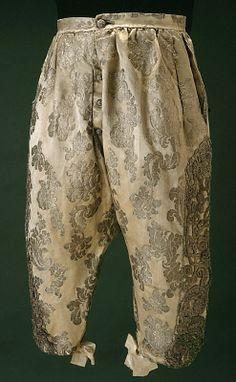 Wedding breeches, 1680.
