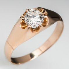 Antique Eco-Friendly Engagement Ring