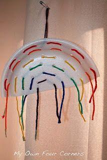 Rainbow weaving craft
