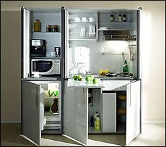 tini kitchen, mini kitchenette, tini hous, tiny kitchens, tiny houses, guest houses, kitchen ideas, small houses, garden houses