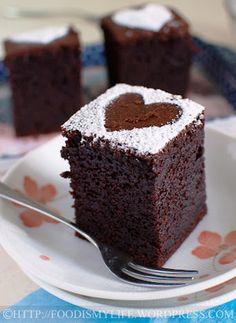 Baileys + Coffee Chocolate Cake