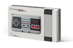 Nintendo is making a 3DS XL that looks like an NES
