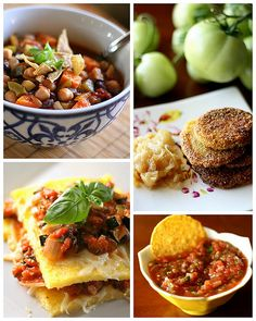 Tomato and Eggplant Recipes
