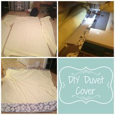 DIY Duvet Cover Tutorial