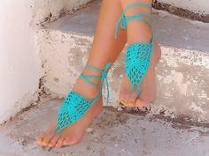 barefoot sandals DIY