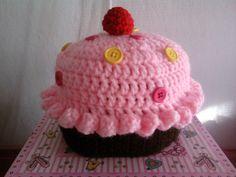 Cupcake hat. $10.00 #cupcake #hat #etsy #crochet