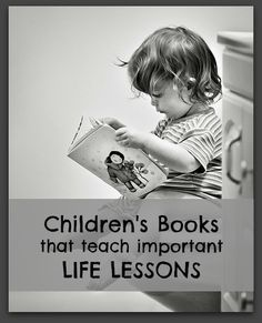 MUST PIN!  Fantastic list of children's books that teach great lessons.  For those hectic days when bedtime stories might be the only time the kiddos learn something
