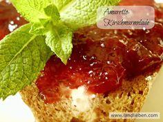 Landlieben: Amaretto-Kirschmarmelade