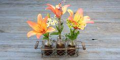 Coffee & Mason Jar Flower Vase - Rethink Simple