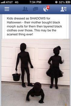Shadow costumes