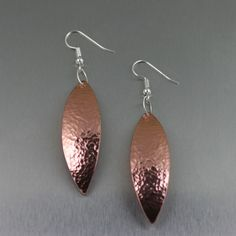 Hammered Copper Leaf