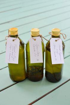 spiced/herbed olive oil