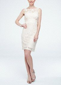 Delicate and classy, this all over lace dress is sure to be favorite at any special occasion!  Sleeveless bodice features ultra-feminine and eye-catching all over lace detail.  Empire waist helps create a refined and flattering silhouette.  Key hole back accent finishes off the look.  Fully lined. Back zip. Imported polyester. Hand wash cold.
