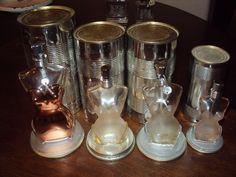 Jean Paul Gaultier Perfume Bottles Empty Lot