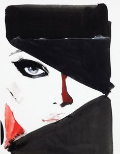 David Downton art