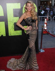 obsessed with this Zuhair Murad dress and of course Blake Lively