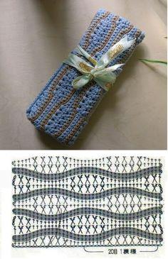 Patrones para Crochet: Patron Crochet Organizador Agujas