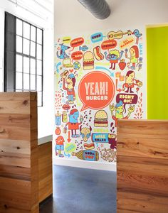 YEAH! BURGER | Tad Carpenter Creative