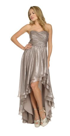 Ivy Silver Gown by ARIELLA @girlmeetsdress