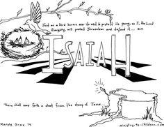 Kidmin prophets on pinterest bible lessons bible for Prophet isaiah coloring page