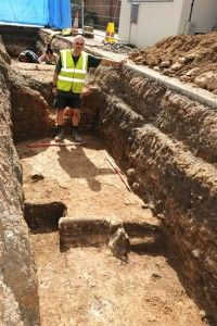 University of Leicester archaeologists have found the lost church where Richard III was buried over 500 years ago – under a City Council carpark.     After his defeat at the Battle of Bosworth in 1485, the body of Britain's last Plantagenet king was brought to Leicester where he was buried in a Franciscan friary. Known as the Church of the Grey Friars, the structure was demolished during the Dissolution of the Monasteries and its location forgotten.