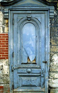 Old Blue Door...