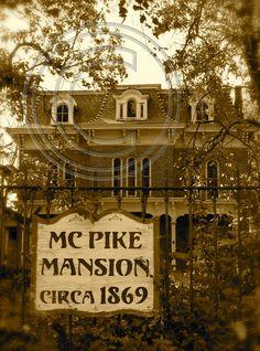 A real haunted house! McPike Masion, Alton, IL.