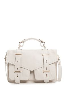 MANGO - TOUCH - Bolso satchel piel