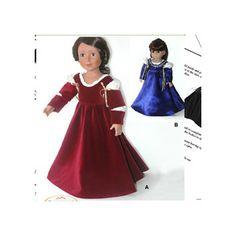 Carpatina Clothes Pattern Doll Italian Renaissance Dress
