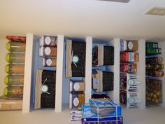 I really need a system like this for our pantry.. This pantry puts mine to shame!!