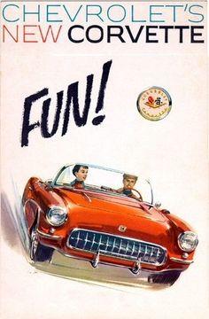 Chevrolet Corvette Ad.