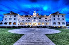 The Stanley Hotel, Colorado. Inspired Stephen King's The Shining. Creepy.