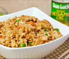 Skinny Chicken Fried Rice | Skinny Mom | Where Moms Get The Skinny On Healthy Living