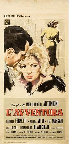 Posteritati: AVVENTURA, L' 1960 Italian 13x28