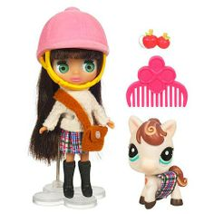 Littlest Pet Shop Blythe and Pet
