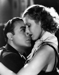 """Charles Boyer & Jean Arthur from """"History is Made at Night"""", 1937."""