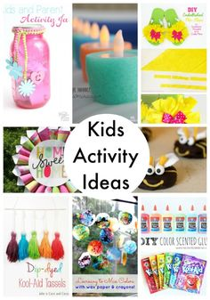 20 kids activity ideas for summer!
