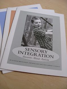 Parent and Teacher Friendly Resources on Sensory Integration -  Pinned by @PediaStaff – Please Visit ht.ly/63sNt for all our pediatric therapy pins
