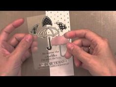 handmade cardmaking video: Hello, Monday 09.30.2013 with Jennifer McGuire ... three clever ways to use die cuts ... great cards!!!