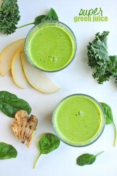 My go-to green juice -- Super Green Juice!