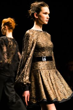 Monique Lhuillier Fall 2014 Collection - Photography by: Jamie Beck