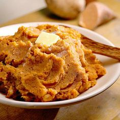 Yum, yum, yum. A mix of red & sweet potatoes for a Thanksgiving side dish!