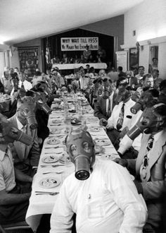 The Anti-Smog Committee Dinner, The Optimists' Club, Los Angeles, 1930s