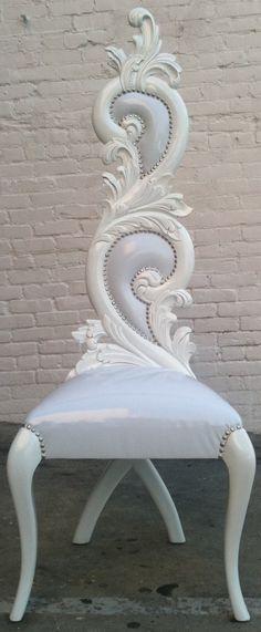 Unicorn Queen's throne!