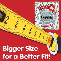NEW RingO XL!!! Bigger Size for a Better Fit! #RingoXL #Screamingo #thebiggerthebetter #betterfit