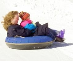 Boone North Carolina Snow Tubing with Kids