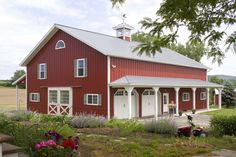 Morton Buildings farm shop in New York. build farm, stuff, dream, outdoor build, barn idea, morton buildings, hous, red barns, build facebook
