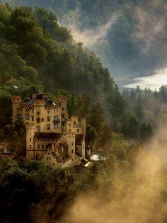 hohenschwangau castl, castles, westeast, beauti germani, germani photo, castle germany, place